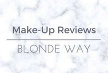 Blonde Way: Make-Up Reviews