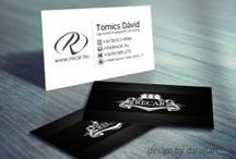 Name cards / Name cards design darellart.hu