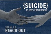 Suicide / If you or someone you know is in a crisis and needs help right away, call this toll-free number, available 24 hours a day, every day: 1-800-273-8255. You'll reach the National Suicide Prevention Lifeline, a service available to anyone. All calls are confidential. / by Second Opinion