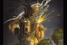 TAROT DECKS: The Tower 16