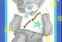 "Tatty Teddy - me to you bear / My tatty teddy pics all ""blinged"" up by me!"