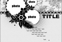 Sketch layouts / Sketch layouts for paper crafting : card-making, scrapbooking etc