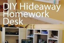 Storage and furniture ideas / Great storage ideas and furniture hacks