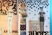 Art journals and sketchbooks