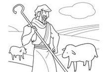 Children's Bible Coloring Pages / This board highlights Bible coloring sheets for kids available on SundaySchoolZone.com.  Each activity can be downloaded and printed free, and is available for home, school, or church use.