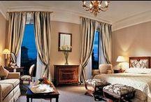 Rooms, Suite and more... / Le più belle stanze, le suite più prestigiose in strutture da sogno dove poter svolgere la fase di tirocinio attraverso l'Accademia IHMA.