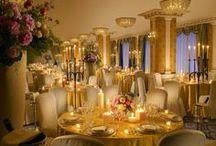 Restaurants, bar and other hotel outlets / Le più belle sale ristoranti, all'interno di strutture alberghiere di grandissimo prestigio partner di IHMA.