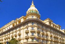 Hotel overview / Viste di insieme delle più importanti strutture alberghiere di lusso. Luoghi fantastici dove poter avviare la propria carriera grazie ai partner dell'Accademia IHMA.