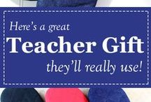 Teacher Gift Ideas / Having a nice collection of teacher gift ideas is something every busy parent needs - seems we're always scrambling last-minute for a great, easy-to-purchase teacher appreciation gift!