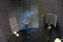 Audio Booth / Examples of audio booth padding