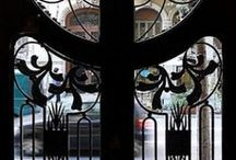Huisinrichting/decoratie art nouveau