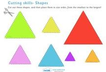 Onderwijs - Vorm en kleur
