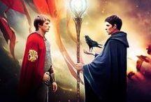 Merlin / Terribly great jokes, Morgana, Merthur :3