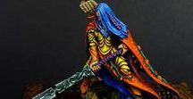 Warhammer Wood Elves / Wanderers / Sylvaneth / Warhammer Wood Elves Age of Sigmar Wanderers / Sylvaneth Warheim Fantasy Skirmish Leśne Elfy z Athel Loren