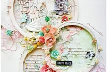 Embroidery hoop / Altered embroidery hoops for inspiration