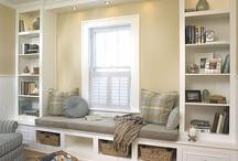 Nooks,Windowseats, Foyers