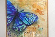 Cards- butterflies #2