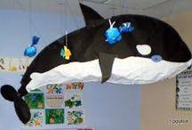 Kids sea / under water crafts + ideas