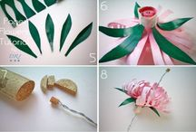 Paper flowers / Fantastic flowers created from paper / by Sam J