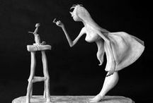 Maquettes & Sculptures / From Animation and classic art