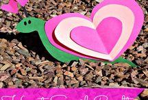 Kids art /craft ideas - Hearts