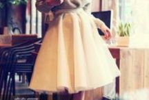 Skirts (long/medium length) / Casual, modest, professional ways to wear skirts that look cute, and fashionable. Looks for Church, work, and everyday use. / by Monica Garcia