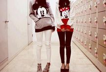 Minnie and Micky mouse