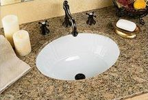 Bathroom Sinks / Undermount and vessel Sinks for bathroom