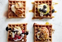 Pancakes & Waffles / Works to anything - breakfast, lunch, dinner, dessert
