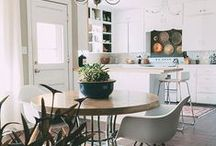 Kitchen & Dining room / Where the family is gathered together