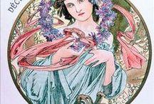 Alfons Mucha (1860 - 1939) / Alfons Mucha (1860 - 1939) / by Eva Personová