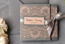 Invitations, Place Cards, etc ... / Inspirations