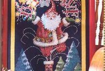 крестик - С Новым Годом и Рождеством!
