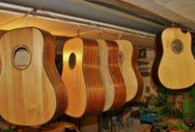 Gitarrenbau / Gitarren bauen, Werkzeug, Materialien