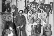 Gitarrenbauer / Luthiers / die verschiedensten Handwerker und deren Werkstätten zu finden