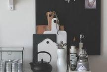 Black/White/Grey/wood