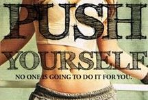 ❤Fit & Fab❤ / Want to be fit and toned and healthy:  Don't wish for it... work for it! Magic is believing in yourself. If you think you can, YOU CAN!! This is your life and your journey... make the best of it!