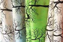 J'zen la vie! / Collection en soie peint à la main par Les Soies de Mini Fée. Hommage aux personnes touchées par le cancer. Une parcelle de vie en soie sur soie.  Par Guylaine Brière Les Soies de Mini Fée www.soiesminifee.com