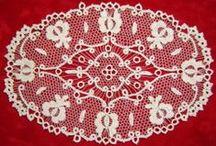 Hungarian Lace / Hungarian folk art -  Halasi, - Höveji, -  Csetneki  csipke