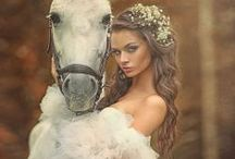 ❤Belle... vanilla❤ / A fashion fairytale in shades of vanilla, cream, white & beige.