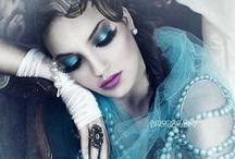 ❤Belle... bleu❤ / When you discover the universe is full of magic, you fall in love with the world... A fashion fairytale in shades of blue.