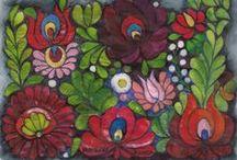 Hungarian embroidery / Hungarian folk art - Magyar népművészet - Magyar  hímzések   bemutatása   tájegységenként