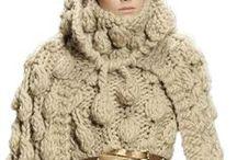 Knitted and crochet fashion / Újra divat minden ami horgolt és kötött