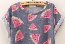 т-ѕнιят, ѕнιят, тαηк тσρ ... / Les T-Shirt, chemises, débardeur ... Que j'aime
