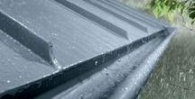 Zinc Gutters / RHEINZINK (www.rheinzink.us) is an architectural-grade zinc alloy, developed for the building industry.  It is 99.995% pure, high-grade zinc with trace amounts of copper and titanium added for malleability and strength.  At RHEINZINK, we take pride in our customer support and providing technical assistance.  RHEINZINK cladding is little to no maintenance, durable, sustainable and can provide functionality for generations to come.