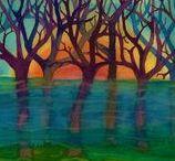 MÁRTA BOLLA'S   ARTWORKS / Festményeimmel szeretném megmutatni Nektek , hogy  látom a természetet, az embereket és a világot.