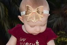 Liv & Co.™ Baby and Toddler Headbands / Baby and toddler headbands for sale.