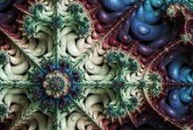 マンデルブロ集合 / Mandelbrot Set / 自作のフラクタルアートです