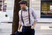 Gatsby Men! / Men's fashions in the roaring twenties.