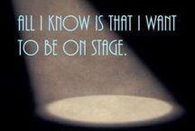 Theater Life / Inside jokes and truisms about life on stage.